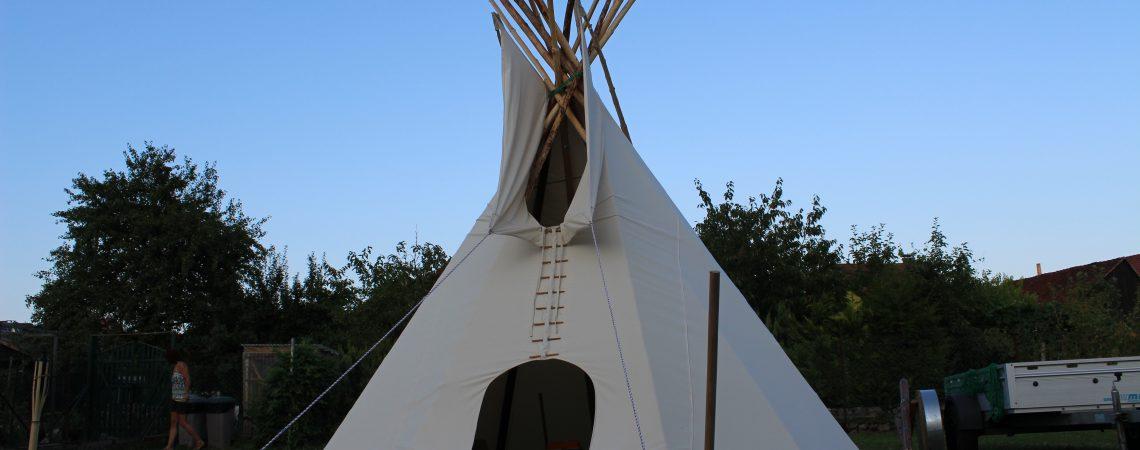 Tipi - Zelt Übernachtung