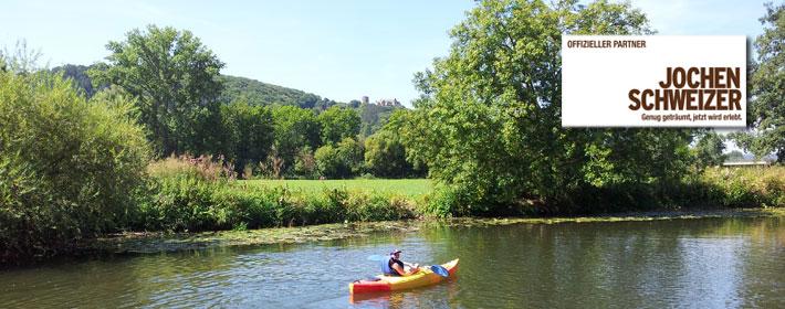 Kajak - Erlebnis, Kajak -Tour Fränkische Saale und Main