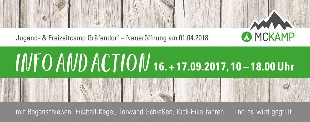 MCKAMP Info-Wochenende zur Neueröffnung