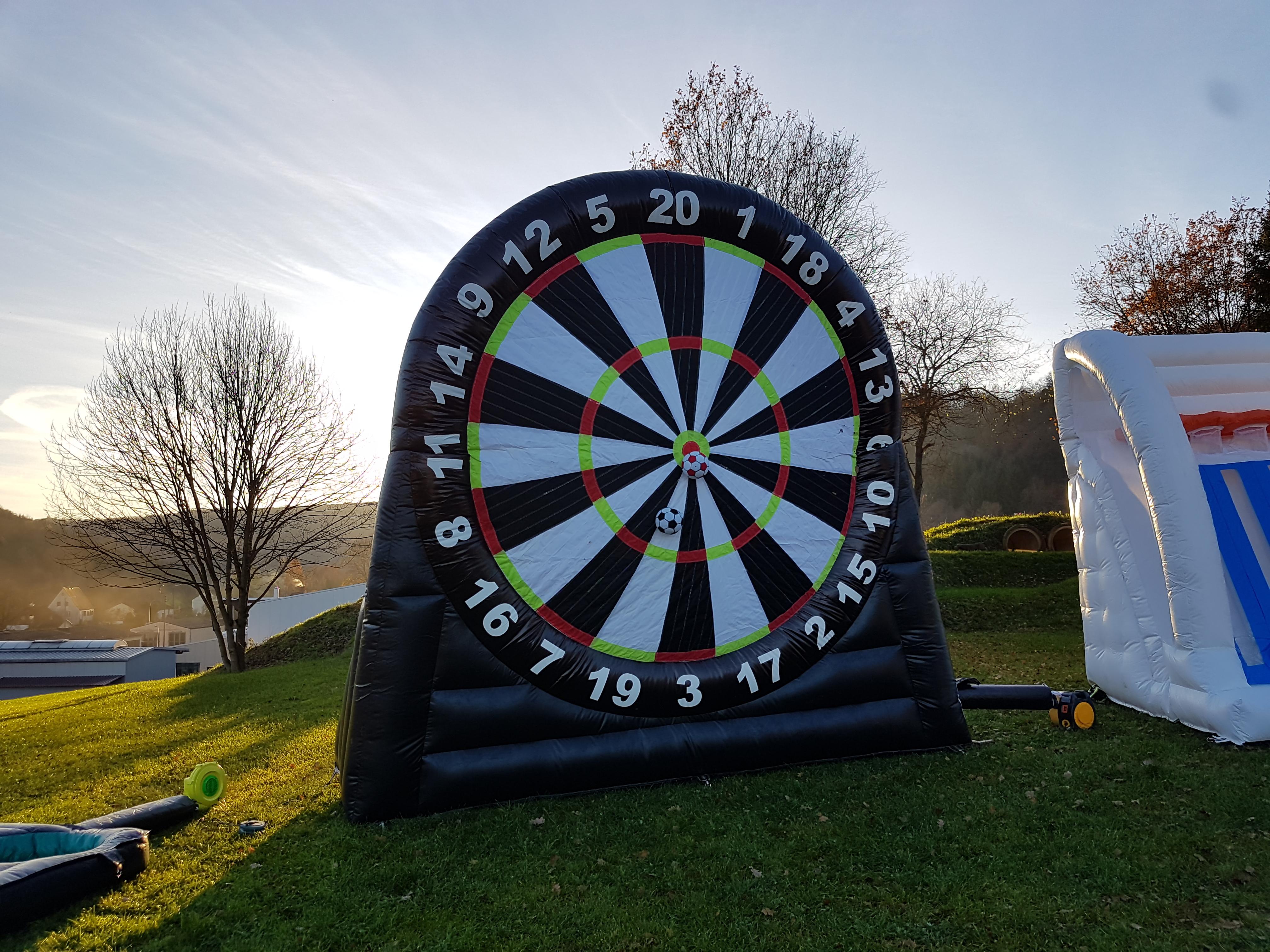 Fussball Dart Event Modul Mc Kamp Das Jugend Freizeitcamp