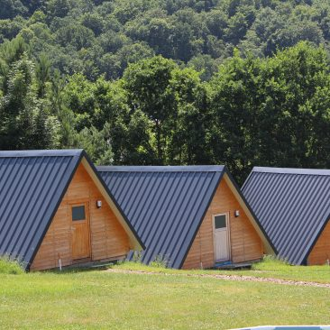 Finnhütten Camp Übernachtung