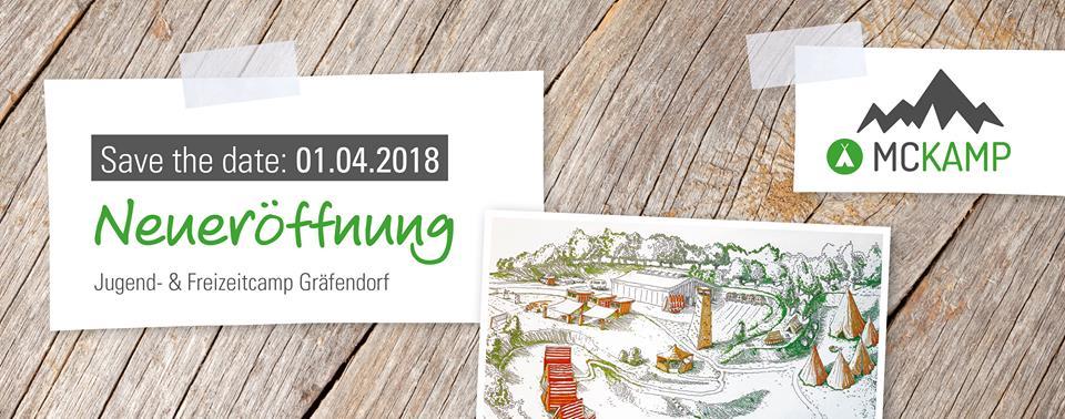 Eröffnung des Jugend- & Freizeitcamps in Gräfendorf