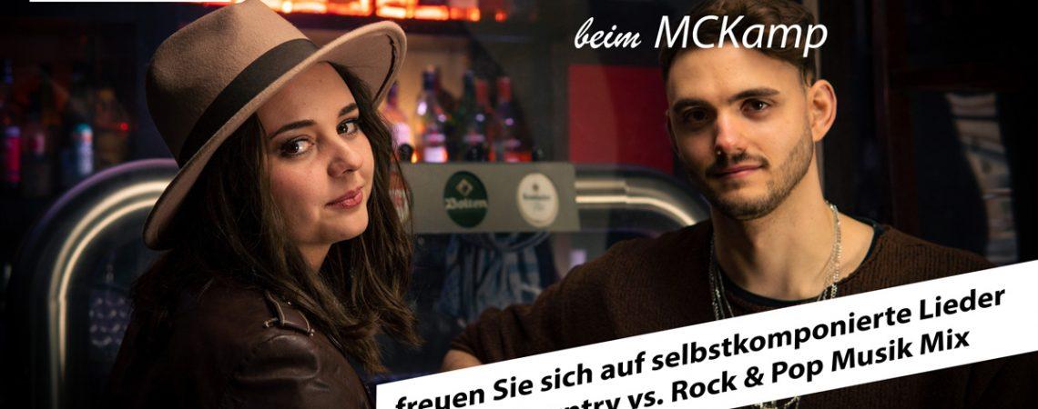 Alina Sebastian Band am MCKamp