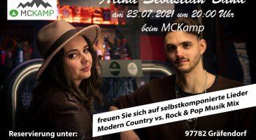 Alina Sebastian Band Live beim MCKamp